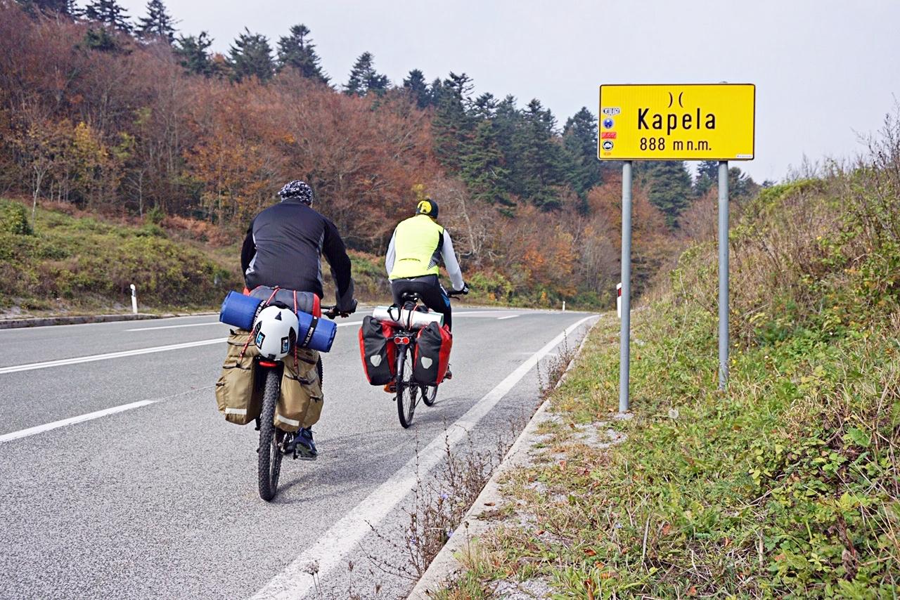 Photo of OD GACKE DO BALATONA: Preko ličke Kapele, završena prva dionica od 116 kilometara