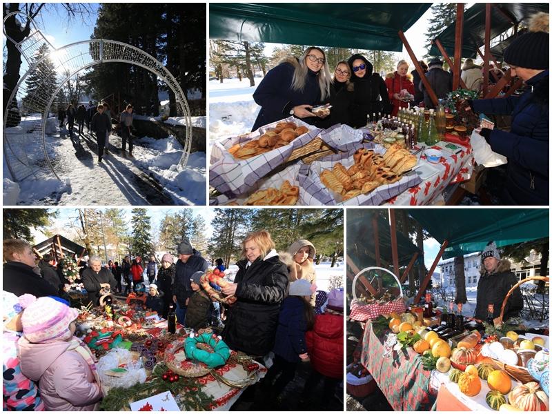 Photo of FOTO Pogledajte kako je bilo na 4. Božićnom sajmu u Gračacu!