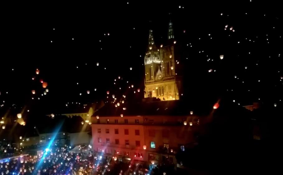 Photo of VIDEO Požar je prijetio i zagrebačkoj prvostolnici: Odlutali lampion mogao je izazvati katastrofu