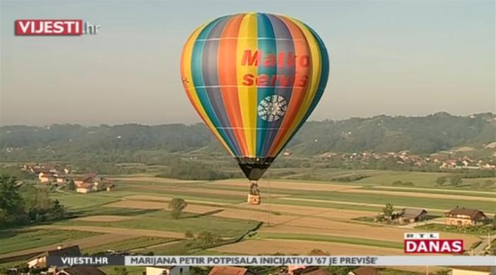 Photo of VIDEO Pođite u visine u atrakciji iznad Hrvatskog zagorja – festivalu balona!
