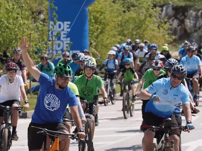 Photo of SLUŽBENI VIDEO Pogledajte najbolje trenutke prve biciklijade u Plitvičkim dolinama!