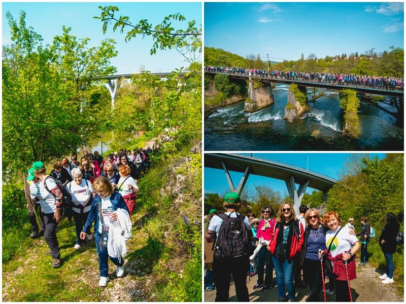 Photo of FOTO Proslava Praznika rada u Rastokama okupila ljubitelje nordijskog hodanja iz cijele Hrvatske