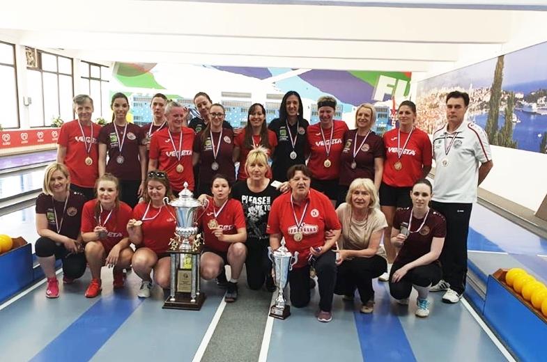Photo of Kuglačice s Plitvica osvojile srebrnu medalju na Kupu Hrvatske
