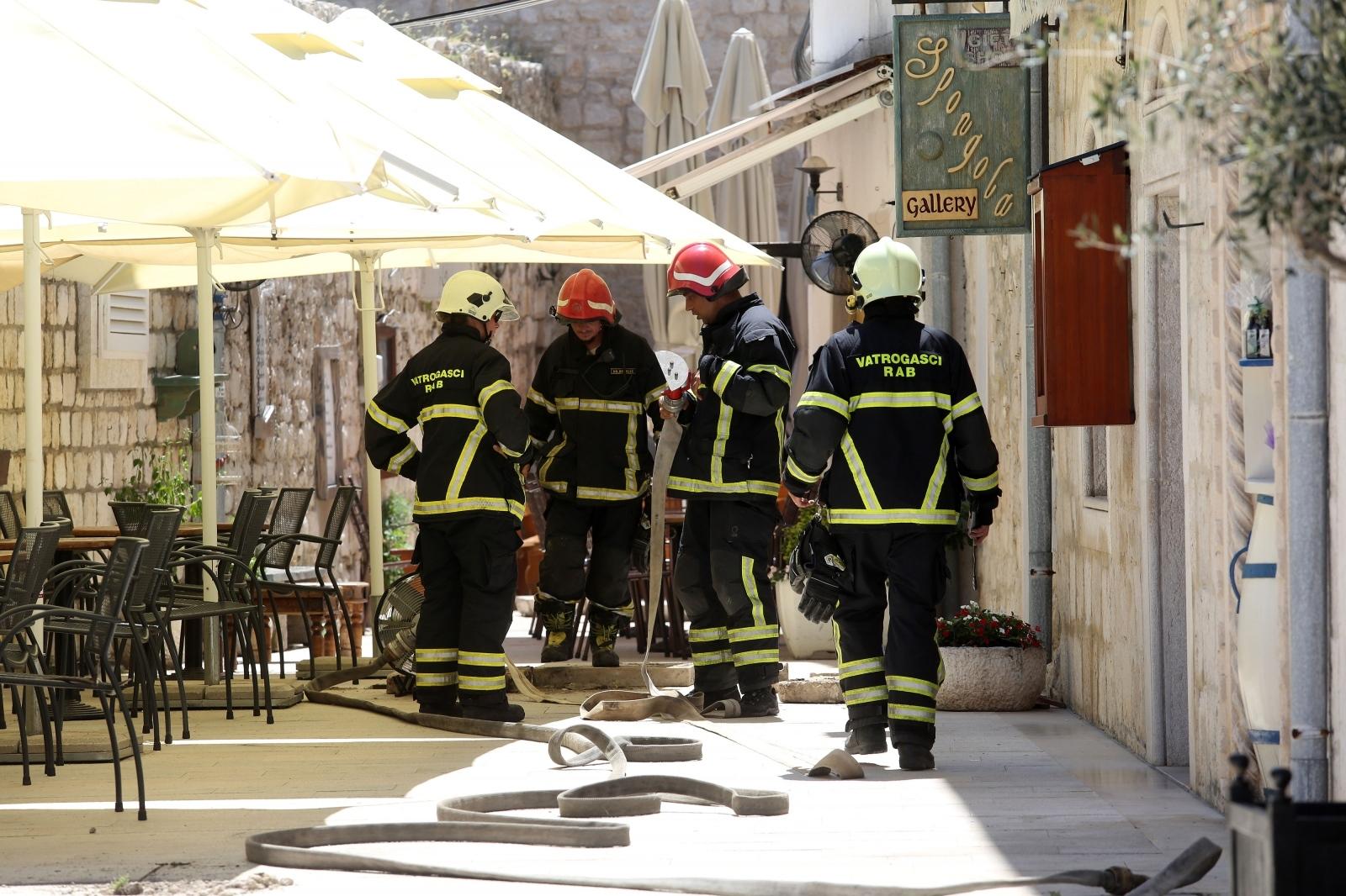 Photo of Zbog curenja plina dio stare jezgre Raba i dalje zatvoren za građane