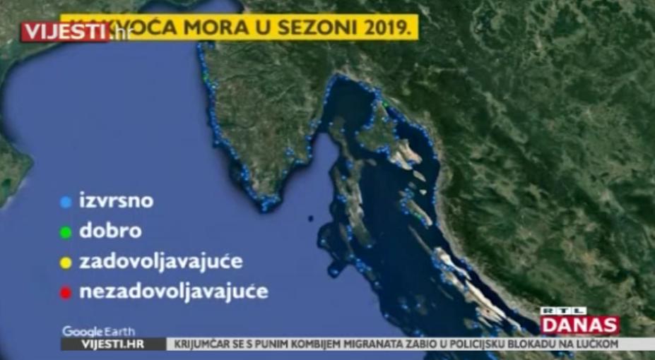 Photo of VIDEO Kakva je kvaliteta hrvatskog mora u prvom ispitivanju ove godine?