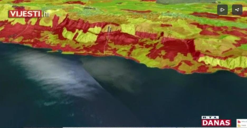 Photo of VIDEO Detaljne karte otkrivaju iz kojeg smjera do stanovništva može doći požar