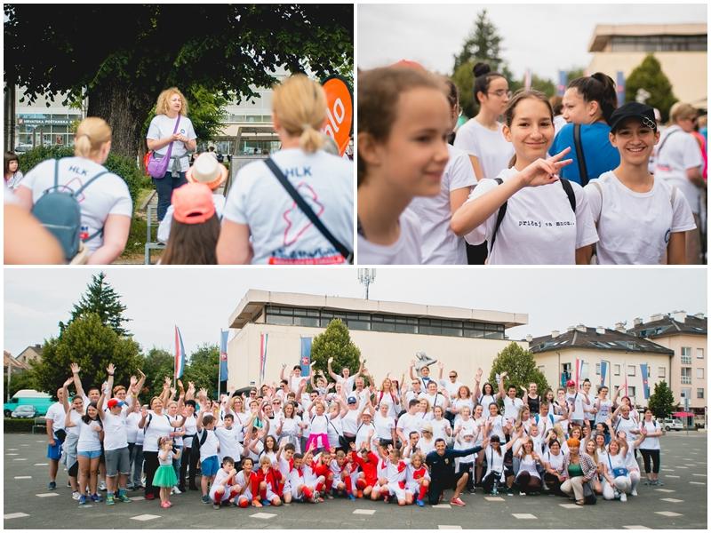 """Photo of FOTO Akcija """"Hodanjem do zdravlja"""" u Gospiću okupila dvjestotinjak sudionika"""