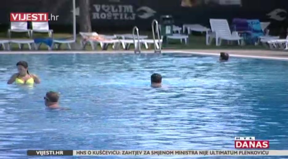 Photo of VIDEO Je li voda u bazenima i toplicama sigurna za kupače?