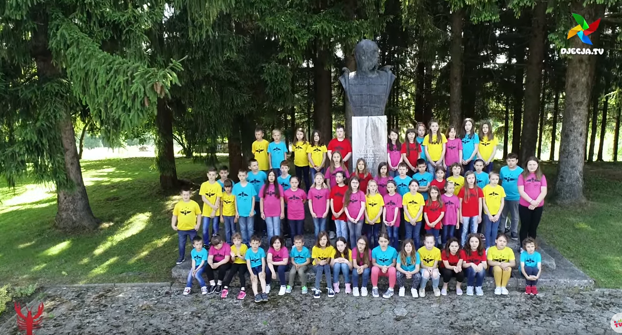 """Photo of VIDEO Ovo su Djeca Rakovice s hit pjesmom -""""Rakovica, Rakovica, ima mnogo divnih lica!"""""""