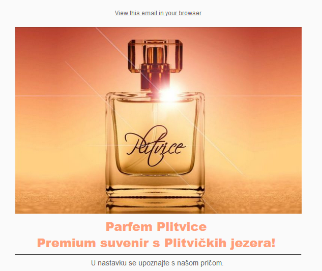 Photo of Parfem Plitvice ima i svoj newsletter!