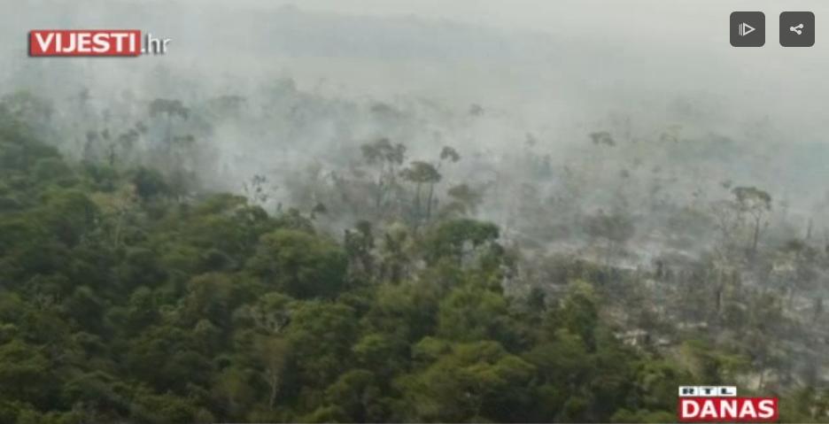 Photo of VIDEO Amazonija i dalje gori, pomoć stiže, ali mnogi tvrde – prekasno…