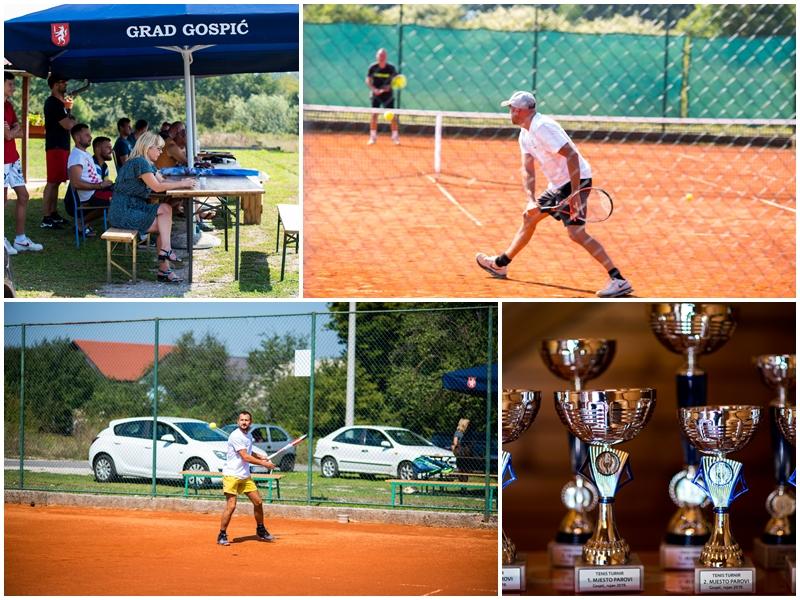 """Photo of FOTO U Gospiću se održava tenis turnir u organizaciji Teniskog kluba """"Lika-Gospić"""""""