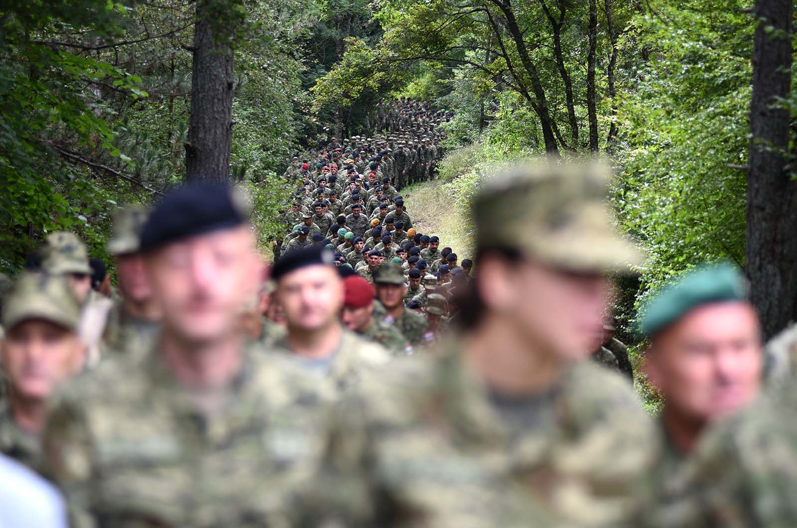 Photo of Održano 4. vojno hodočašće Hrvatske kopnene vojske na Udbinu