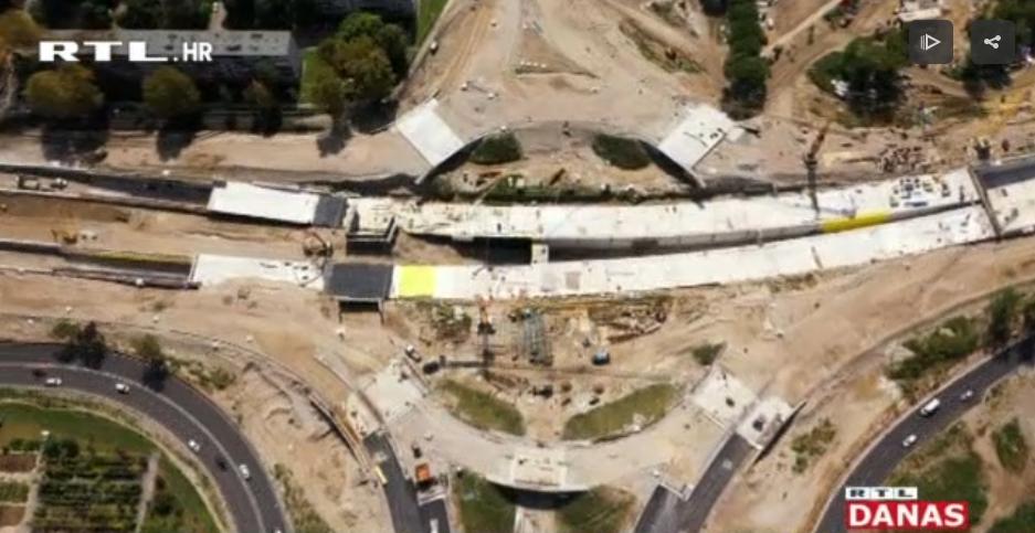 Photo of VIDEO Kako napreduju radovi na zagrebačkom rotoru
