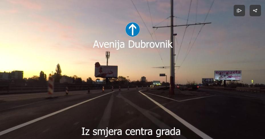 VIDEO Otvoren dio novog zagrebačkog rotora – pogledajte kako se sada odvija promet na tom dijelu!