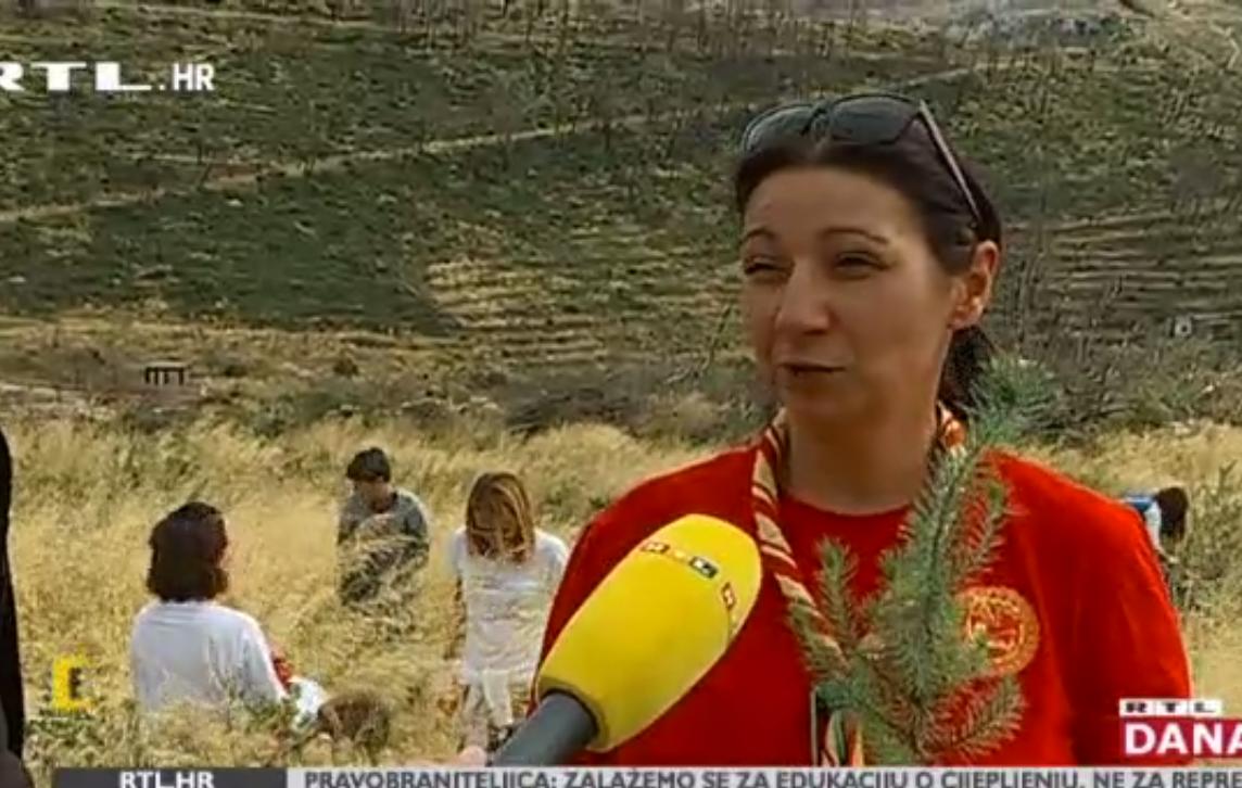 Photo of VIDEO Stotine volontera pošumljavaju opustošeno zemljište kod Splita
