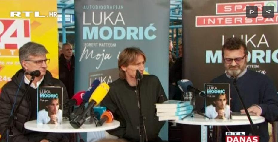 Photo of VIDEO Pogledajte ludnicu na predstavljanju Modrićeve autobiografije!