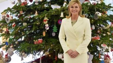 Photo of Božićna čestitka predsjednice Kolinde Grabar-Kitarović