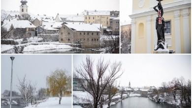 Photo of FOTO/VIDEO Snježni pokrivač zabijelio Gospić, pogledajte idilične prizore