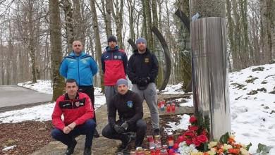 Photo of Sportske udruge s područja Plitvica odale počast redarstveniku Josipu Joviću