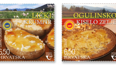 Photo of Lički krumpir i Ogulinsko zelje na službenim poštanskim markicama!