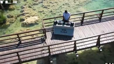 Photo of VIDEO Šibenski DJ ima genijalnu ideju: Elektronsku glazbu sa slapova Krke dovodi u vaše domove