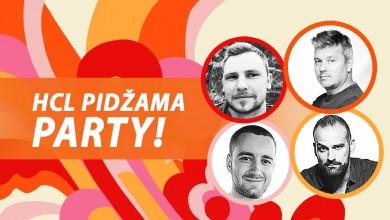 Photo of Dario Juričan nastupa na Pidžama Partyju