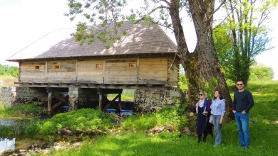 Photo of Obnovljen drveni mlin kašikar u Ribniku, jedan od najstarijih u Lici