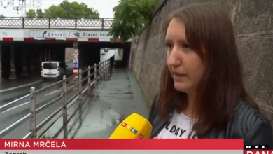 "Photo of VIDEO Heroina Mirna spasila je Josipa od utapanja: ""Bila je to filmska scena. Ja sam plivala s njegovom protezom, a on je ostao na krovu auta"""