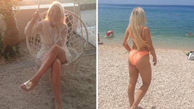 """Photo of Atraktivna Paulina oduševljena Novaljom: """"Cijene su niske, odlično je i to što nema gužve"""""""