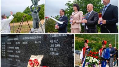 Photo of FOTO Odana počast poginulim braniteljima na Ljubovu, mjestu najvećeg stradanja u Oluji