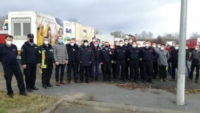 Photo of Treći konvoj pomoći: Njemački vatrogasaci dopremili 17 kontejnera, građevinski materijal, bolničko vozilo…