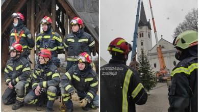 Photo of Preko 8000 vatrogasnih intervencija u SMŽ, uklonjen vrh tornja sisačke katedrale