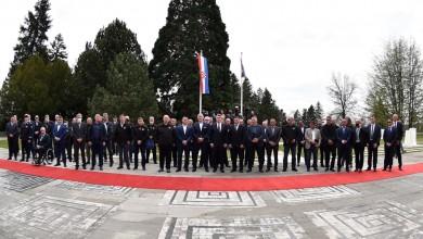 """Photo of Predsjednik Milanović dodijelio odlikovanja sudionicima akcije """"Plitvice"""""""