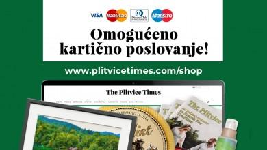 Photo of Uvedena mogućnost plaćanja bankovnim karticama na Plitvice Shopu