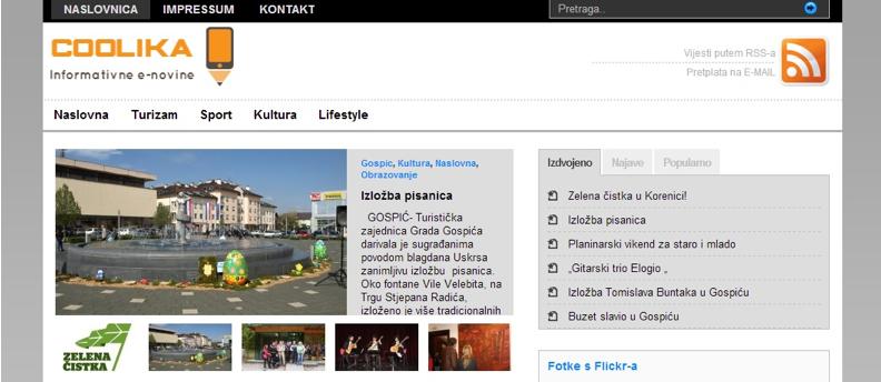 Photo of Portal CooLika.net krenuo s radom