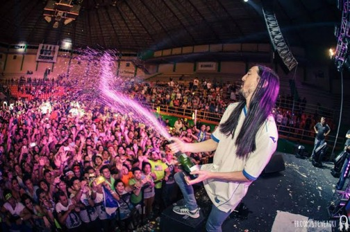 Photo of VIDEO Ovako Steve Aoki RUŠI DJ PULT!