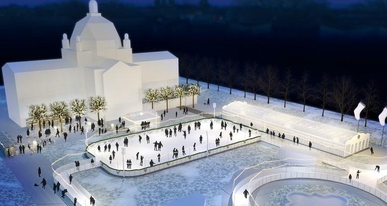 Photo of ZAGREB Trg Kralja Tomislava postaje atraktivno klizalište