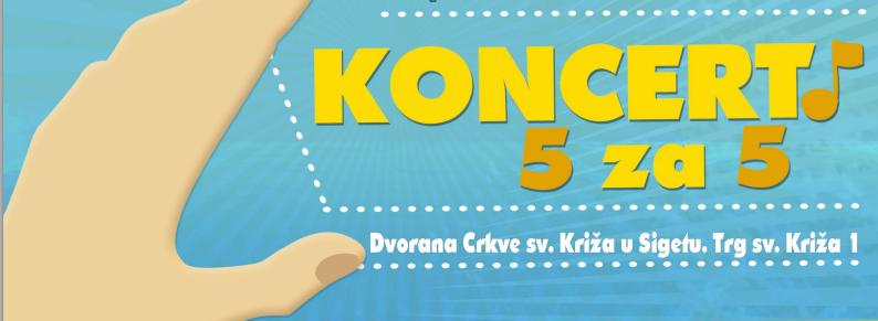 """Photo of Najavljen koncert za palijativnu skrb:  """"5 na 5"""" u Zagrebu"""