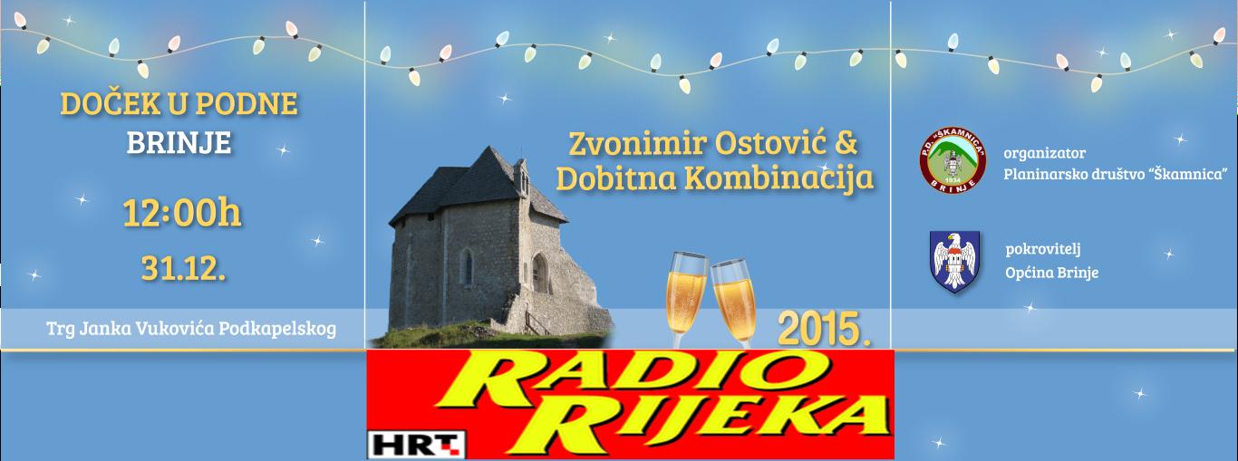 Photo of BRINJE PRATI TRENDOVE Na Radio Rijeci predstavljen DOČEK U PODNE!