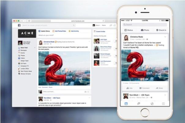 "Photo of Krenuo ""Facebook at Work"", žele vašu pažnju i dok radite"