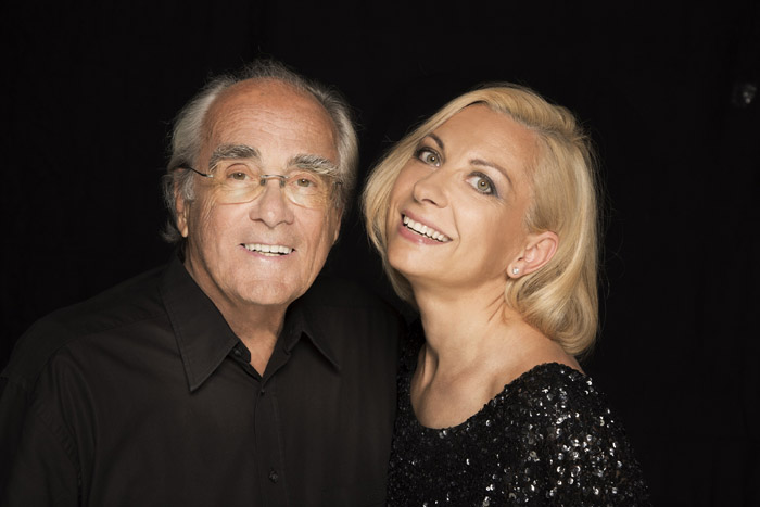 Photo of Michel Legrand i Natalie Dessay 14.2. u Lisinskom