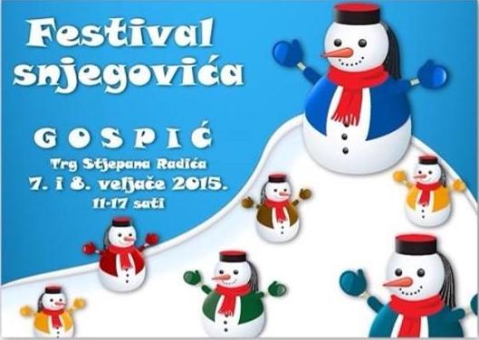 Photo of Najavljen Festival snjegovića u Gospiću