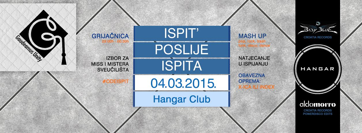 Photo of NAJAVA: Gaudeamus Unity poziva na novi party – ISPIT´ POSLIJE ISPITA