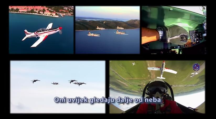 """Photo of VIDEO: Ponosna """"Krila Oluje"""" sve bliže odlasku iz Hrvatske"""