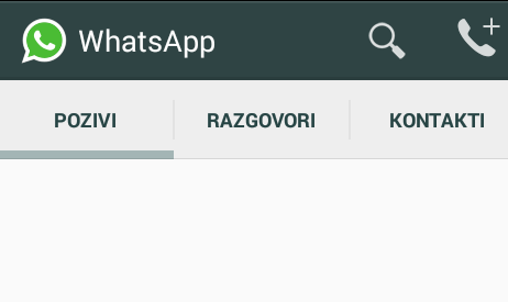 WhatsApp pozivi