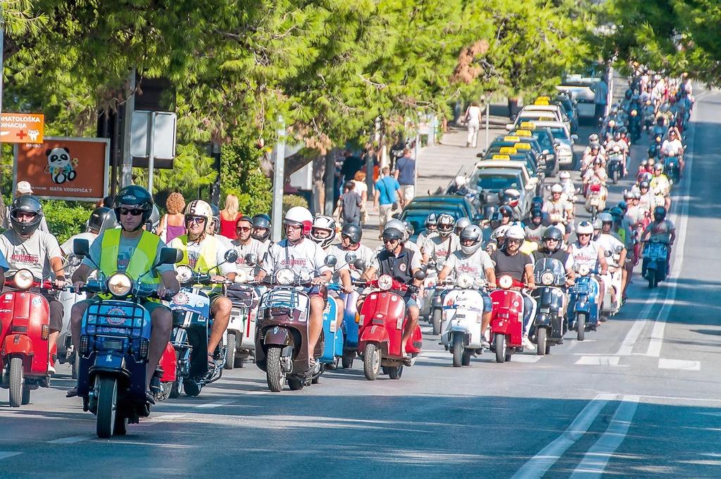 Photo of Vespa klub Hrvatska organizira najveće okupljanje Vespi u svijetu
