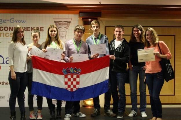 Photo of Na Europskoj konferenciji mladih matematičara Hrvatski srednjoškolci osvojili dva prva mjesta