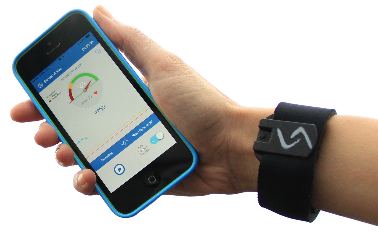 Photo of AdvicyDrive –  narukvica koja će vas spriječiti da zaspete dok vozite