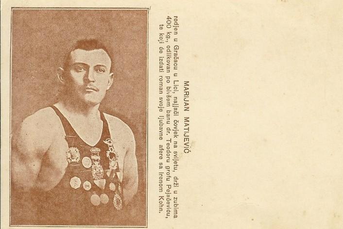 Photo of Herkul zlatnog srca – Marijan Matijević